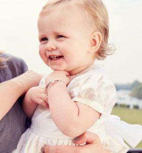 baby with bangle