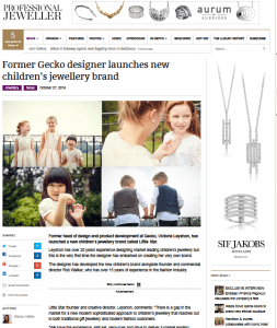 little star jewellery in magazine