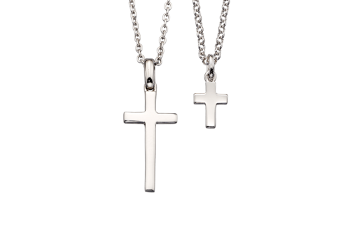 silver-cross-necklace-set