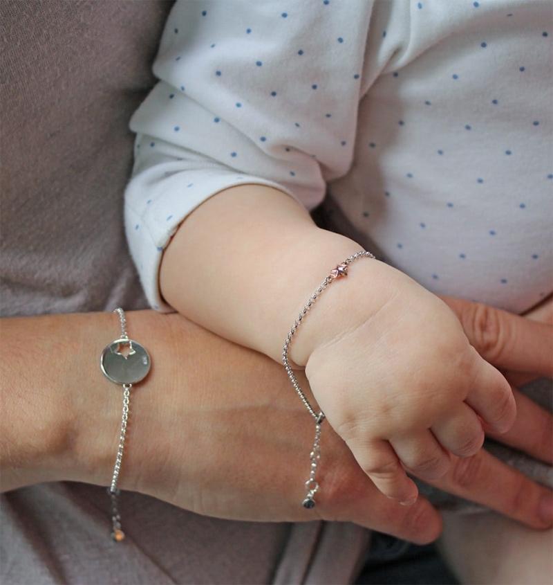 matching mum and baby bracelets