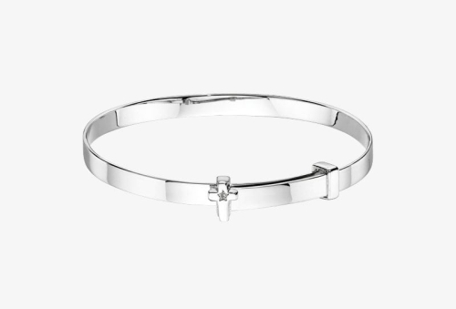 Honor Diamond Baby Bangle