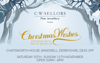 Chatsworth jewellery showcase