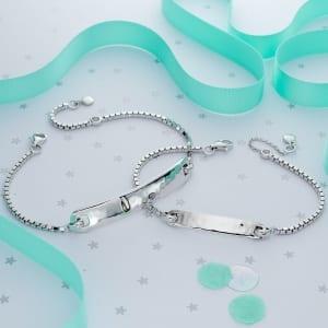 matching silver bracelets
