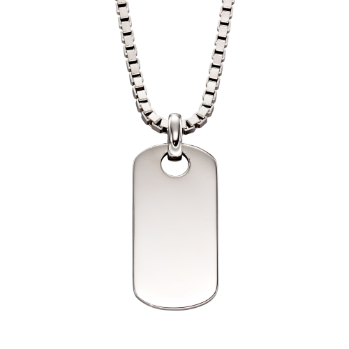 Otis- Mens Tag Necklace