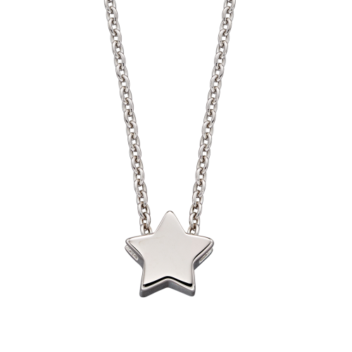 Alice - Single Star Charm Necklace