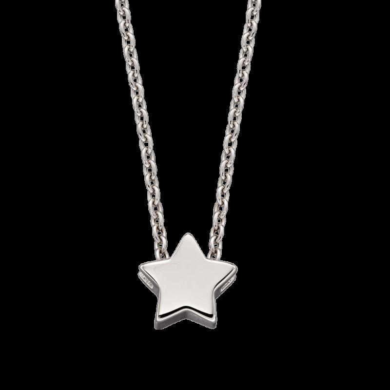 Alice - Single Star Charm Necklace