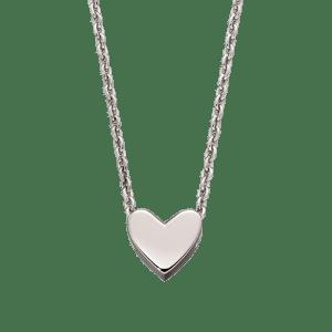 Zahra - Single Heart Charm Necklace
